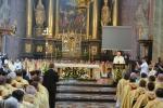Uroczystości w archikatedrze zawiązane z 50. rocznicą święceń biskupich Arcybiskupa Seniora Archidiecezji Lubelskiej Bolesława Pylaka. (fot. UMWL)