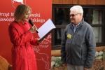 List okolicznościowy od marszałka województwa odczytała Ewa Szałachwiej, dyrektor Departamentu Rolnictwa i Rozwoju Obszarów Wiejskich UMWL