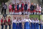 """W sobotnie popołudnie lubelski folklor zaprezentowały muzykalne dzieci z zespołu """"Koraliki"""" oraz młodzież z formacji """"Błękitne Korale"""", obydwa działające przy Gminnym Domu Kultury w Zakrzówku"""
