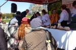 Warsztaty kulinarne cieszyły się dużym zainteresowaniem zwłaszcza żeńskiej reprezentacji mieszkańców regionu