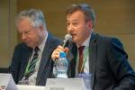 Wicemarszałek Województwa Lubelskiego Krzysztof Grabczuk podczas wystąpienia w panelu dyskusyjnym
