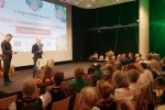 W gali uczestniczył m.in. wicemarszałek Sebastian Trojak (przy mikrofonie)
