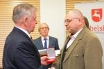 Wręczenie Medalu Pamiatkowego Województwa Lubelskiego Panu Andrzejowi Mazurkowi