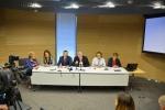 Na zdjęciu znajdują się dyrektorzy muzeów, marszałek Sławomir Sosnowski i wicemarszałek Krzysztof Grabczuk na konferencji prasowej