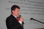 Gwoździem programu była prelekcja na temat projektowanych przez ministerstwo rolnictwa zmian zapisów ustawy o utrzymaniu czystości i porządku w gminach, którą przedstawił radny Województwa Lubelskiego Leszek Kowalczyk