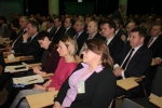 W sali głównej Lubelskiego Centrum Konferencyjnego w Lublinie zgromadziło się blisko dwieście osób
