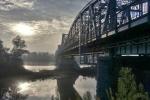 Wyróżnienie. Grzegorz Szafranek, Puławy – Stary most na Wiśle::