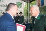 Medale województwa lubelskiego oraz okolicznościowe dyplomy wręczał zasłużonym myśliwym i kołom łowieckim wicemarszałek Grzegorz Kapusta