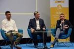 Debata z udziałem przedstawicieli lubelskich firm na temat odpowiedzialnego podejścia w biznesie