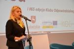 Wystąpienie Sekretarza Województwa, Pani Anny Augustyniak