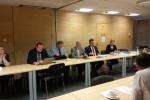 Spotkanie otworzyła radna Bożena Lisowska – przewodnicząca zespołu (w głębi pierwsza z prawej)