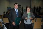 """Renata Skowronek (na zdjęciu z mężem) otrzymała wyróżnienie w konkursie """"Najlepsze gospodarstwo ekologiczne"""""""