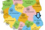 Lista zarejestrowanych produktów tradycyjnych wg województw (grudzień 2016) ::: źródło: www.minrol.gov.pl