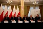 W uroczystej inauguracji Rady udział wziął m.in. marszałek Jarosław Stawiarski (drugi z lewej) (© Lubelski Urząd Wojewódzki)