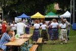 To zdjęcie w pełni oddaje nastrój, jaki towarzyszył uczestnikom festiwalu w Nałęczowie