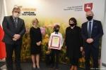 Maksymilian Wąsowski, laureat trzeciego miejsca, przyjechał na uroczystość wraz z mamą aż spod Białej Podlaskiej