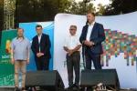 Słowa powitania do mieszkańców regionu podlaskiego oraz przybyłych do Drohiczyna gości kierował wicemarszałek województwa lubelskiego Grzegorz Kapusta