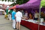 Przy tym namiocie można było w Drohiczynie degustować najlepsze lubelskie smakołyki i uzyskać informacje nt. naszych atrakcji turystycznych