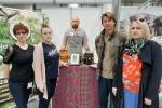 Lubelskie stoisko i laureatów Złotego Medalu Targów odwiedził sam Karol Okrasa, twarz Natura Food 2019