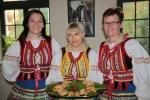 Drugie miejsce za tatarskie smakołyki w kategorii gastronomicznej zajęły panie z Koła Aktywnych Kobiet w Łobaczewie Małym