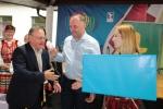 Nagrodę dyrektora DRiŚ za krem grzybowy z grzankami odbiera Witold Grudziński ze Słodkowa Drugiego
