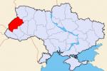 Mapa obwód Lwowski