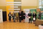 Organizatorzy i laureaci olimpiady w poszczególnych blokach tematycznych (© ZSR w Kijanach)
