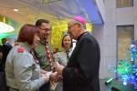 Arcybiskup Stanisław Budzik i harcerze