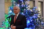 Marszałek Sławomir Sosnowski podczas przemówienia