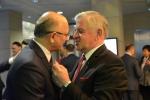Prezydent Krzysztof Żuk i Marszałek Sławomir Sosnowski