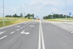 Wyremontowany odcinek drogi wojewódzkiej Piotrków - Wysokie
