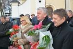 W otwarciu udział wzięli m.in. marszałek Sławomir Sosnowski, dyrektor ZDW w Lublinie Andrzej Gwozda oraz rozdzina śp. Edwarda Wojtasazej