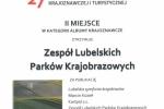 Dyplom dla ZLPK (fot. Marcin Kozieł, Biuro ZLPK w Lublinie)