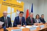Podpisanie umów o dofinansowanie 1