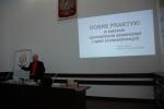 Dr Adam Lesiuk na konferencji w Chełmie