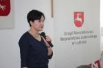 Prof. Anna Haładyj na konferencji w Zamościu