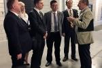 Delegacja z Politechniki Henańskiej