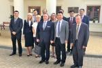 Delegacja z Politechniki Henańskiej podczas wizyty na Politechnice Lubelskiej