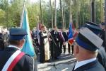 Poświęcenie odnowionego cmentarza z okresu I Wojny Światowej w Kamieniu Kolonii
