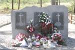 Tablica upamiętniająca poległych w czasie I Wojny Światowej w Kamieniu Kolonii