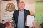 """Tomasz Machoń z """"Perłą"""" (fot. Tomasz Makowski/UMWL)"""