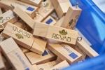 Pendrivy promocyjne z logiem projektu REVAB