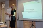 Otwarcie szkolenia w ramach projektu ROSIE przez Z-cę Dyrektora Departamentu Gospodarki i Współpracy Zagranicznej Małgorzatę Błaszczyk-Osik