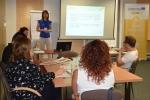 Uczestnicy szkolenia w ramach projektu ROSIE