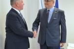 Spotkanie Marszałka Sławomira Sosnowskiego z Ambasadorem Bułgarii w RP
