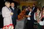 Tradycyjna wizyta pary prezydenckiej na stoiskach regionalnych. Prezydent z małżonką odwiedzili naszą ekipę już wieczorem