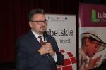 """O projekcie """"Na kulinarnym szlaku wschodniej Polski"""" mówił dyrektor Sławomir Struski"""