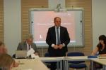 Spotkanie otworzył wicemarszałek Grzegorz Kapusta