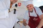Wicemarszałek przyrządzał ryby pod okiem mistrza Gieny Mientkiewicza