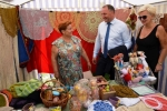 W trakcie festiwalu odbył się również kiermasz wyrobów tradycyjnych i regionalnych, w tym rękodzieła ludowego